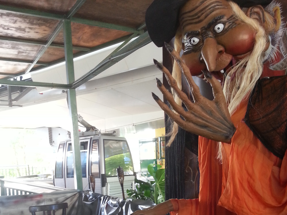 Benalmádena Cable Car suggests you have good scary fun this Halloween!