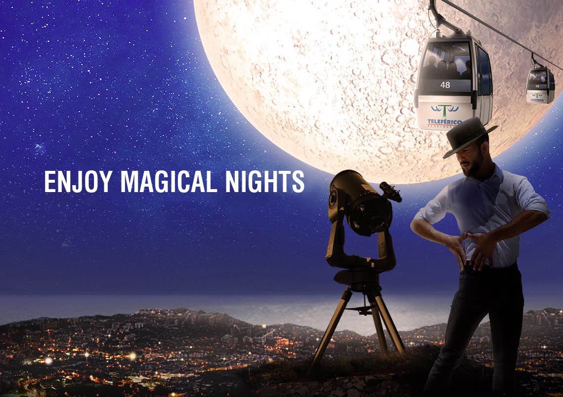 The Magical Nights of the Benalmádena Cable Car