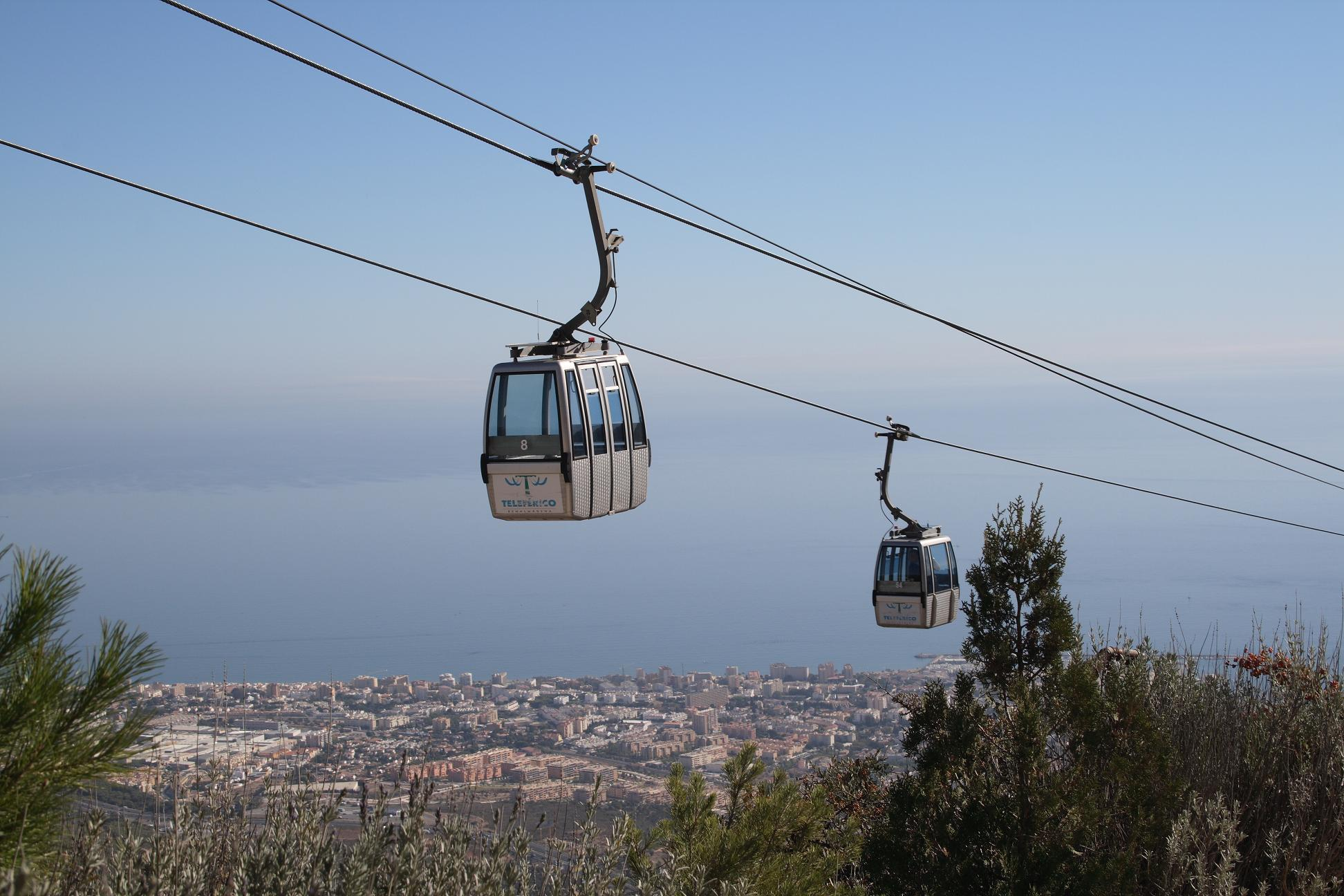 End of season at the Benalmádena Cable Car