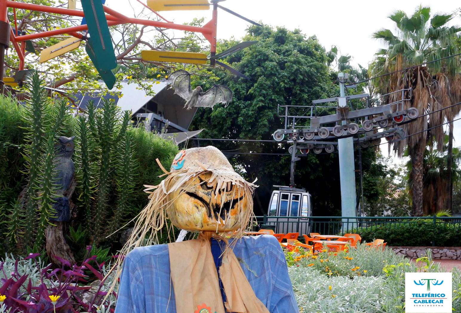 BENALMÁDENA CABLECAR SUGGEST YOU A SCARY FUN THIS HALLOWEEN!