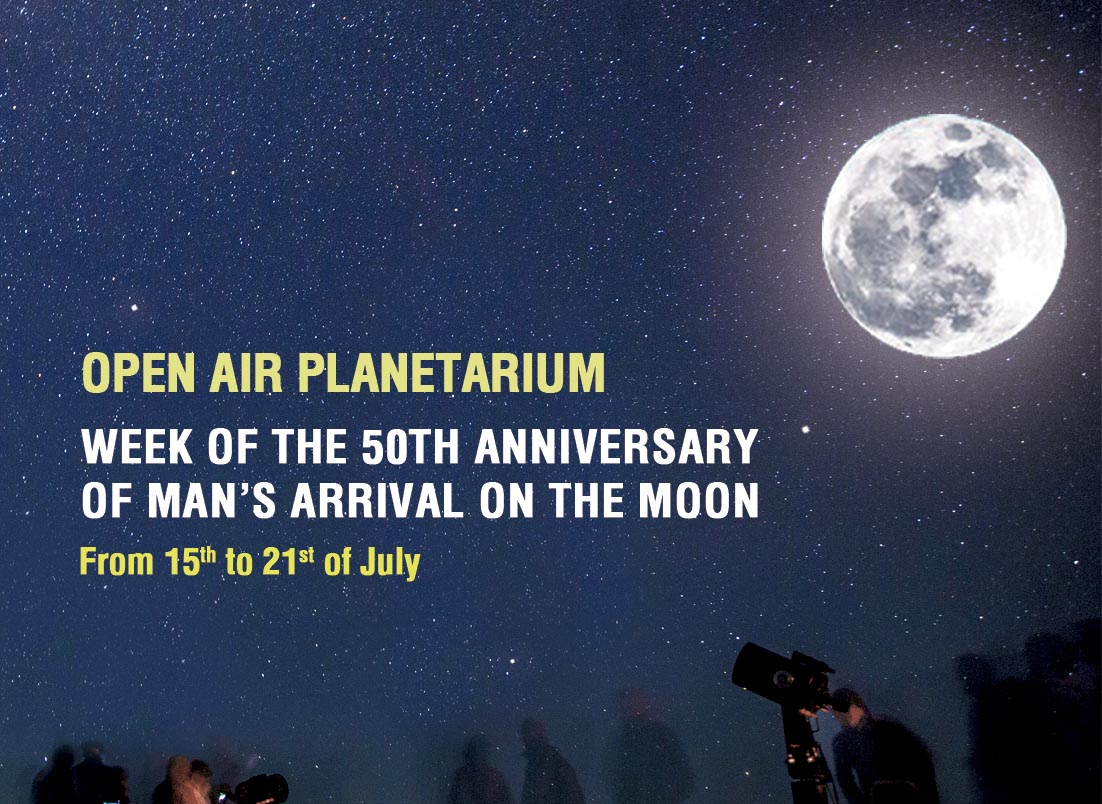 WEEK OF THE 50th ANNIVERSARY OF MAN'S ARRIVAL ON THE MOON